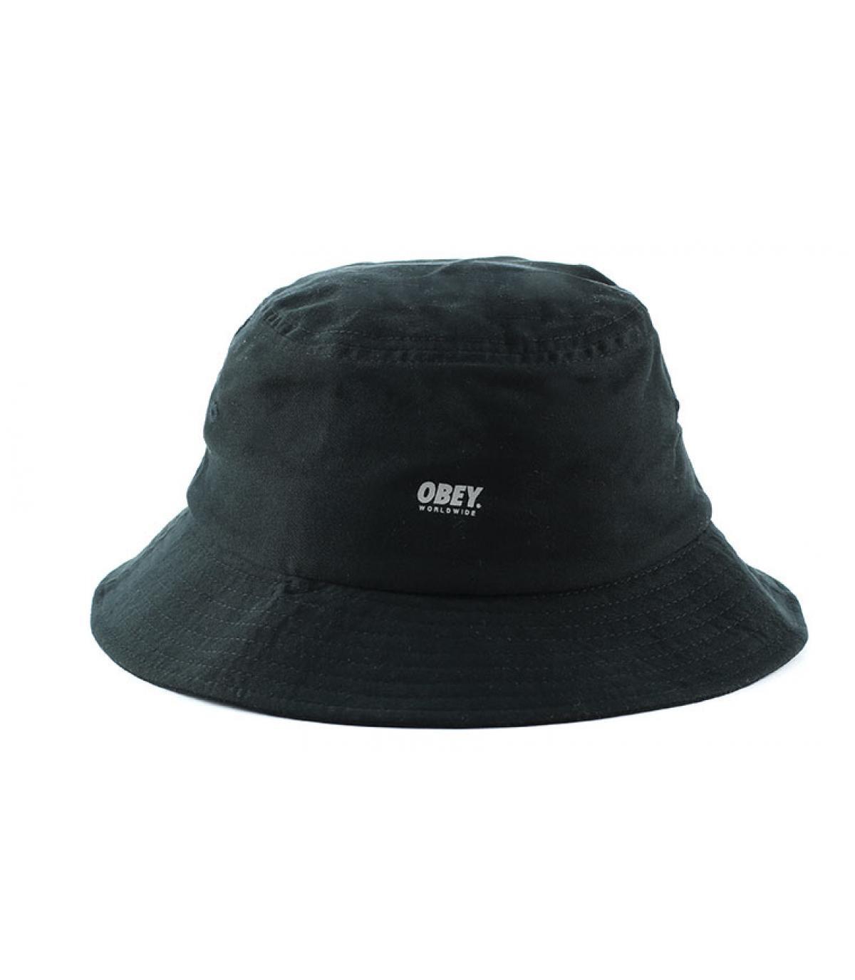 Obey schwarzer Fischerhut