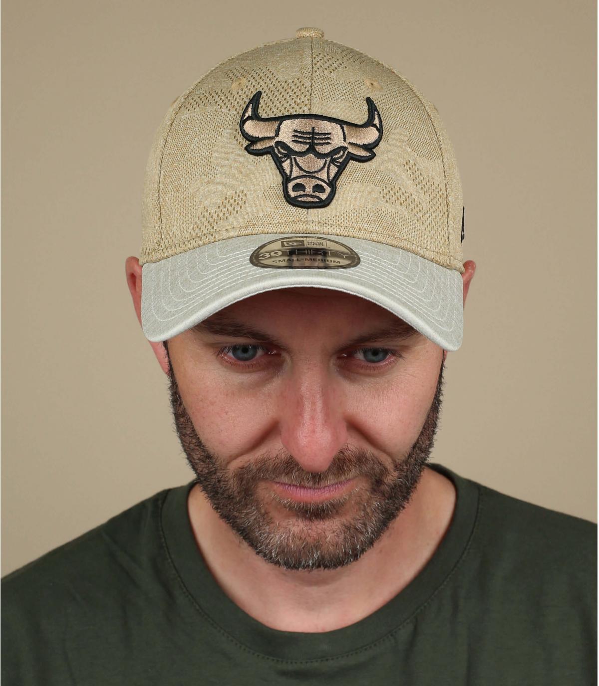 Cap Bulls beige