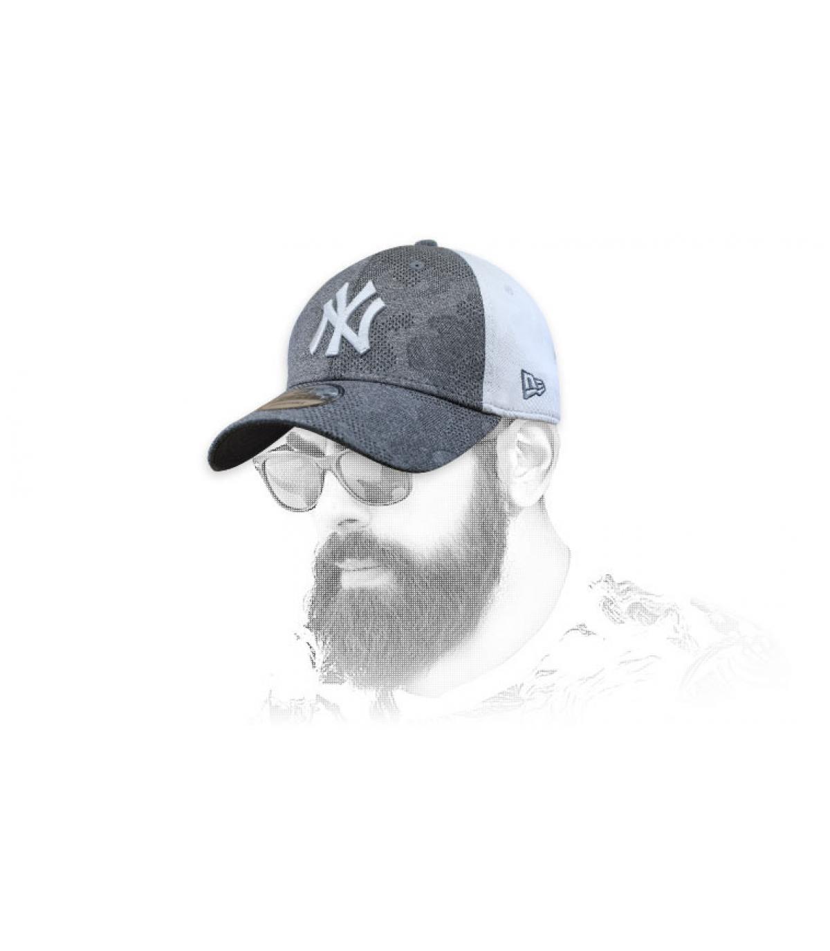 Baseball Cap  NY schwarz