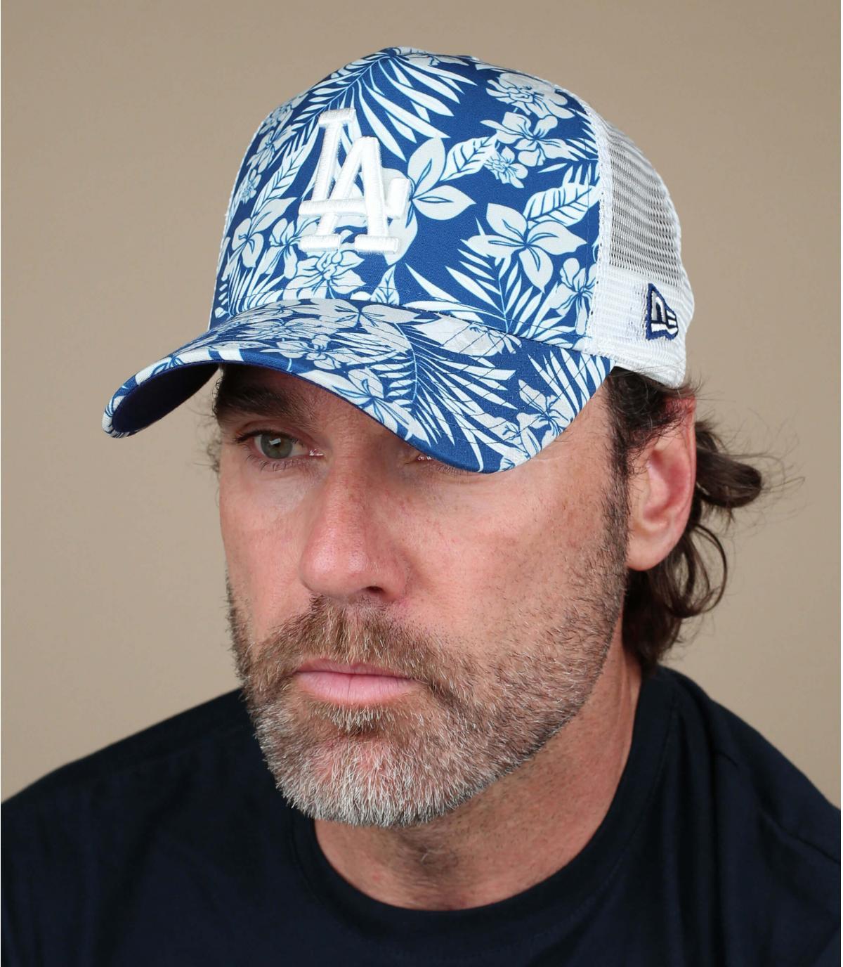 Trucker LA Dschungel blau
