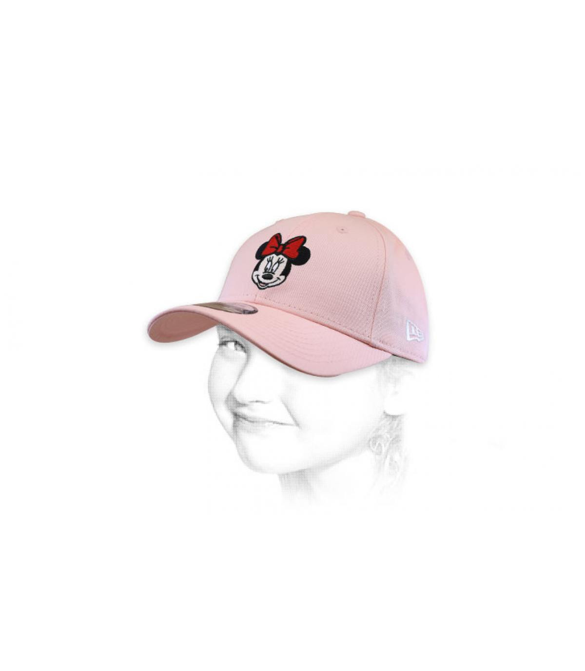 Kinder Cap Minnie rosa