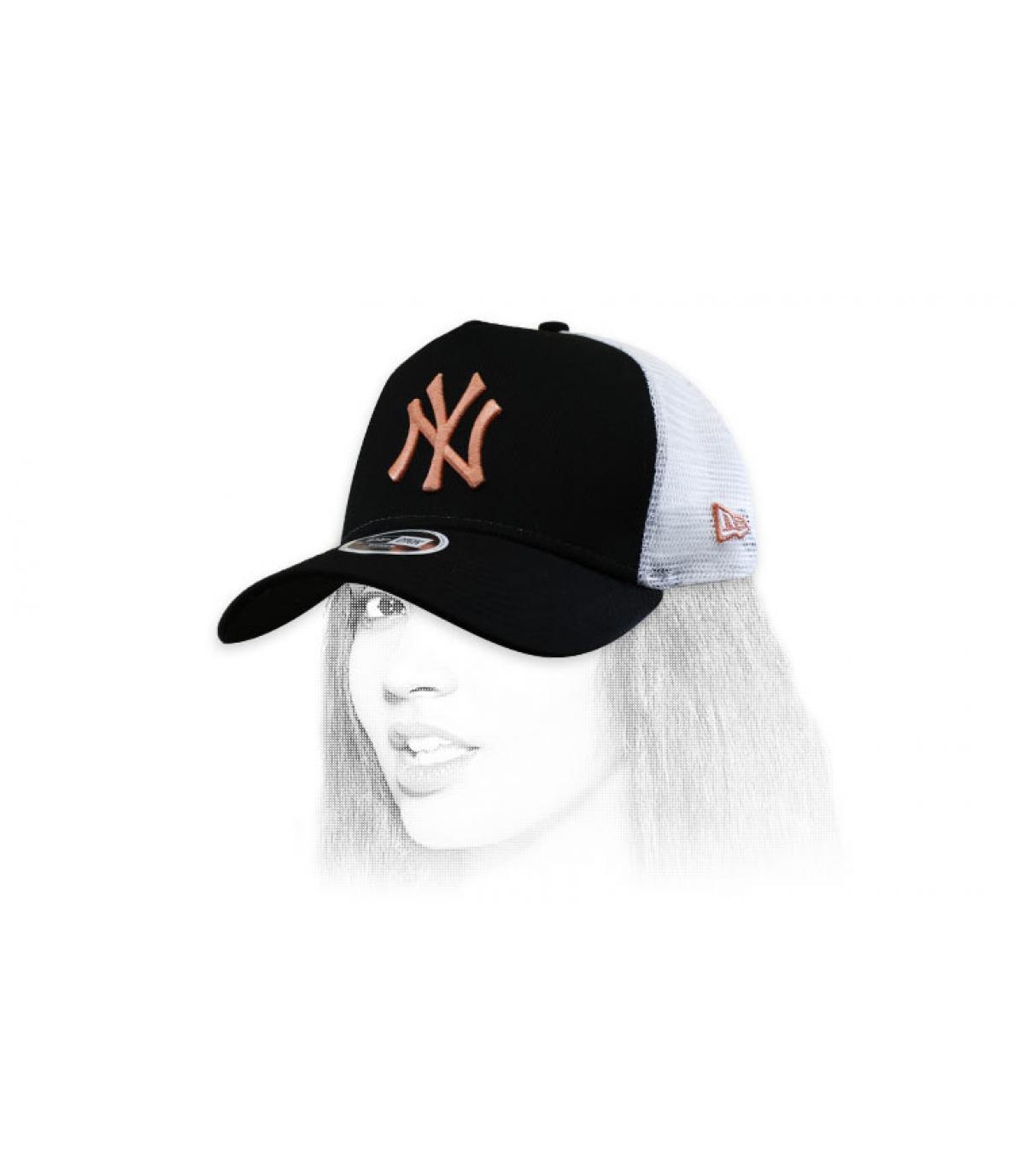 Damen Trucker Cap NY