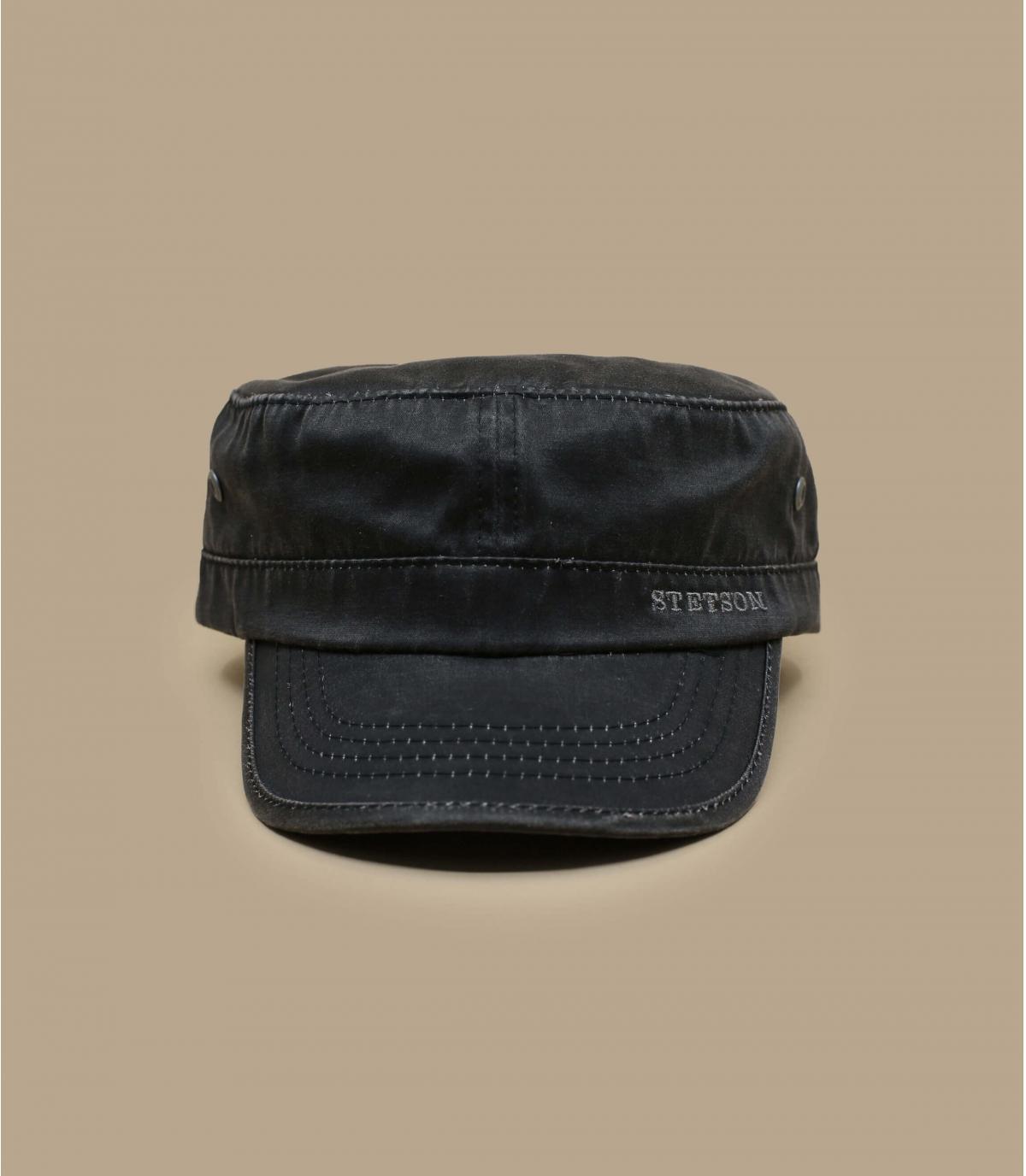 cap stetson schwarz