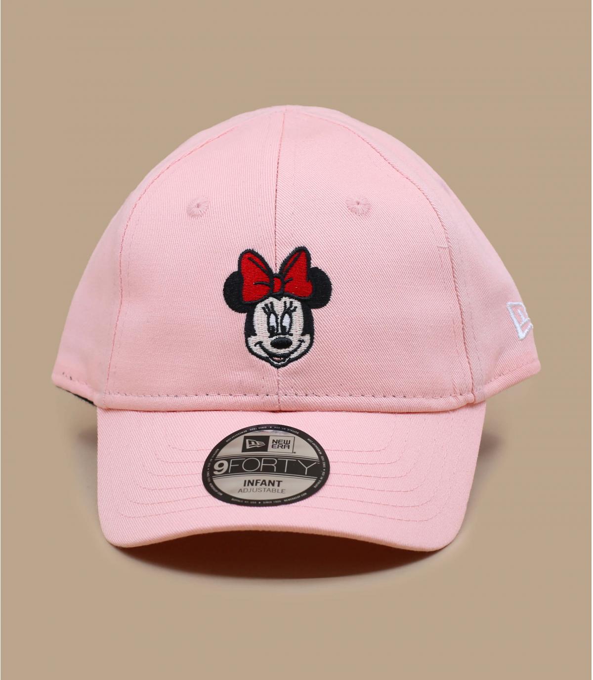 Baby Cap Minnie rosa