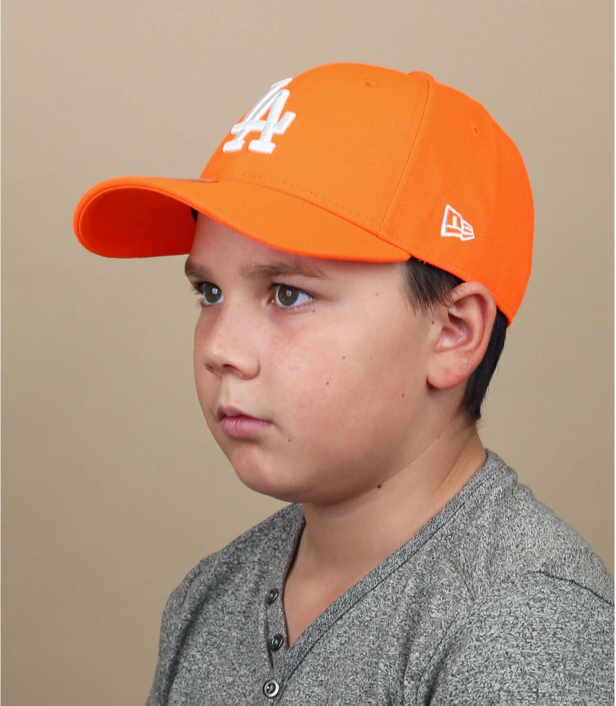 Kinder Cap LA orange