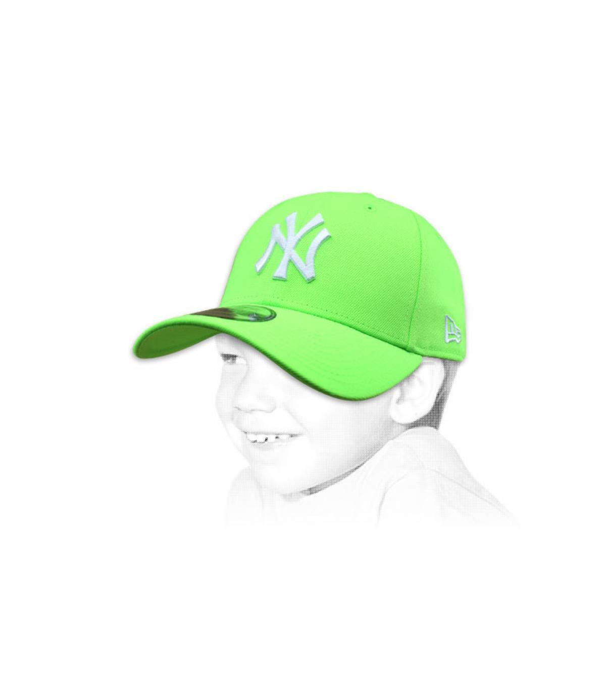 Kinder Cap NY vert