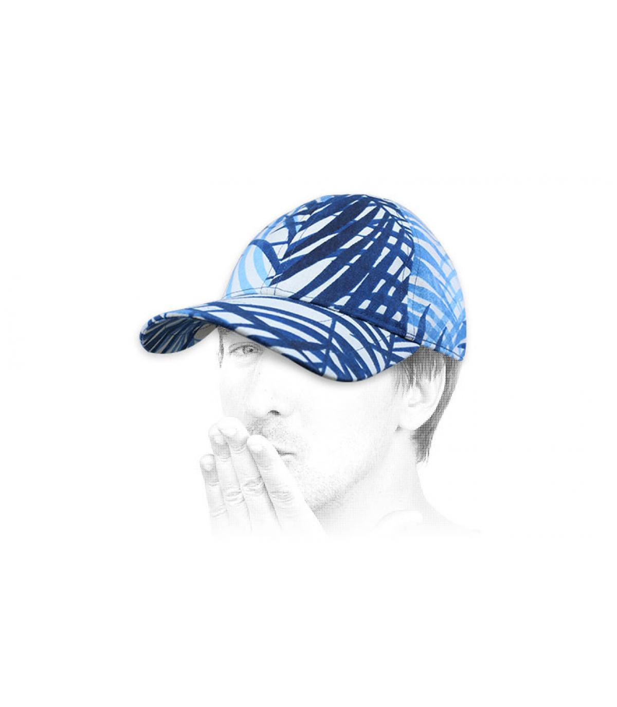 Cap Chapoté blau weiß