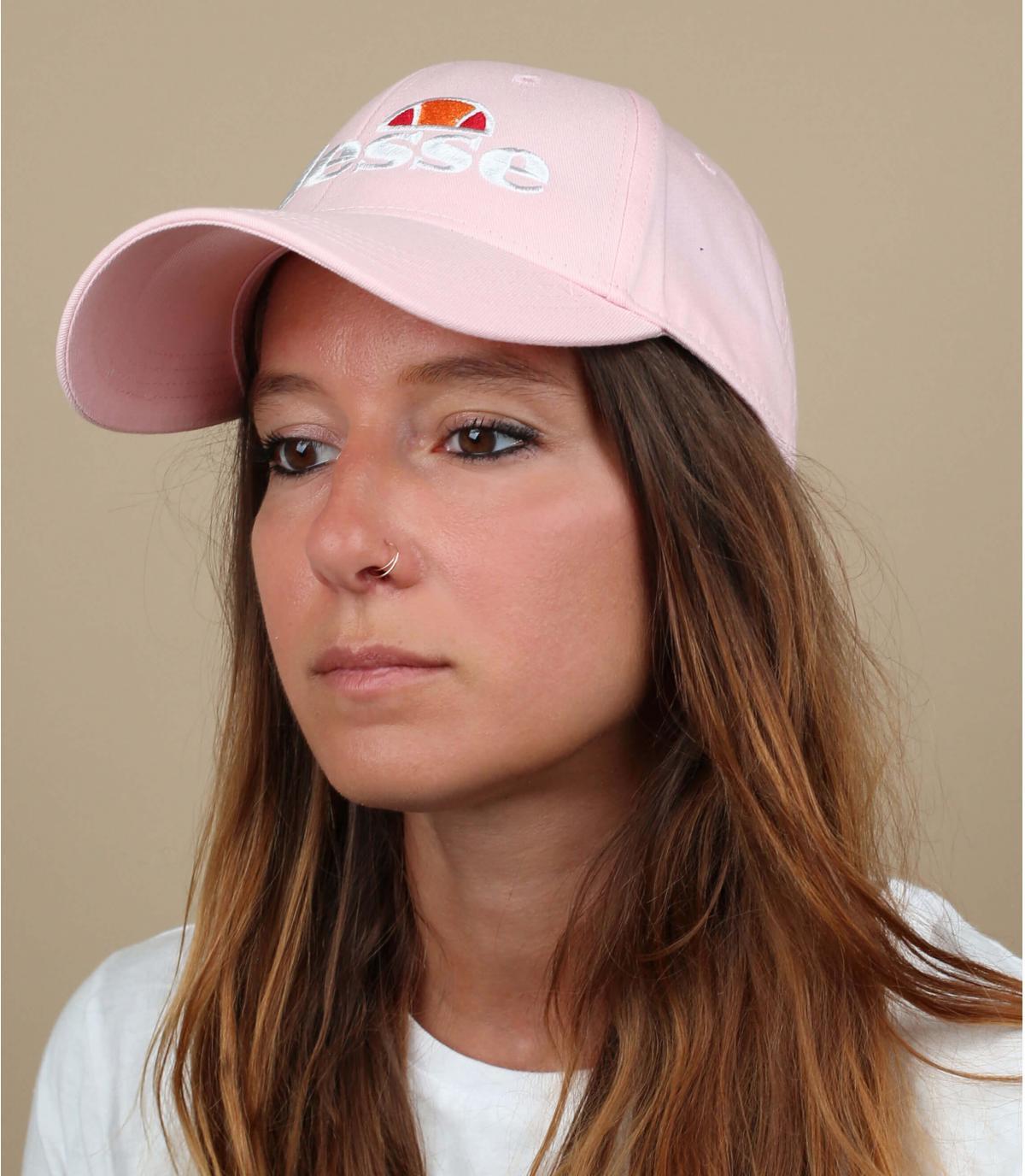 Cap Ellesse pink