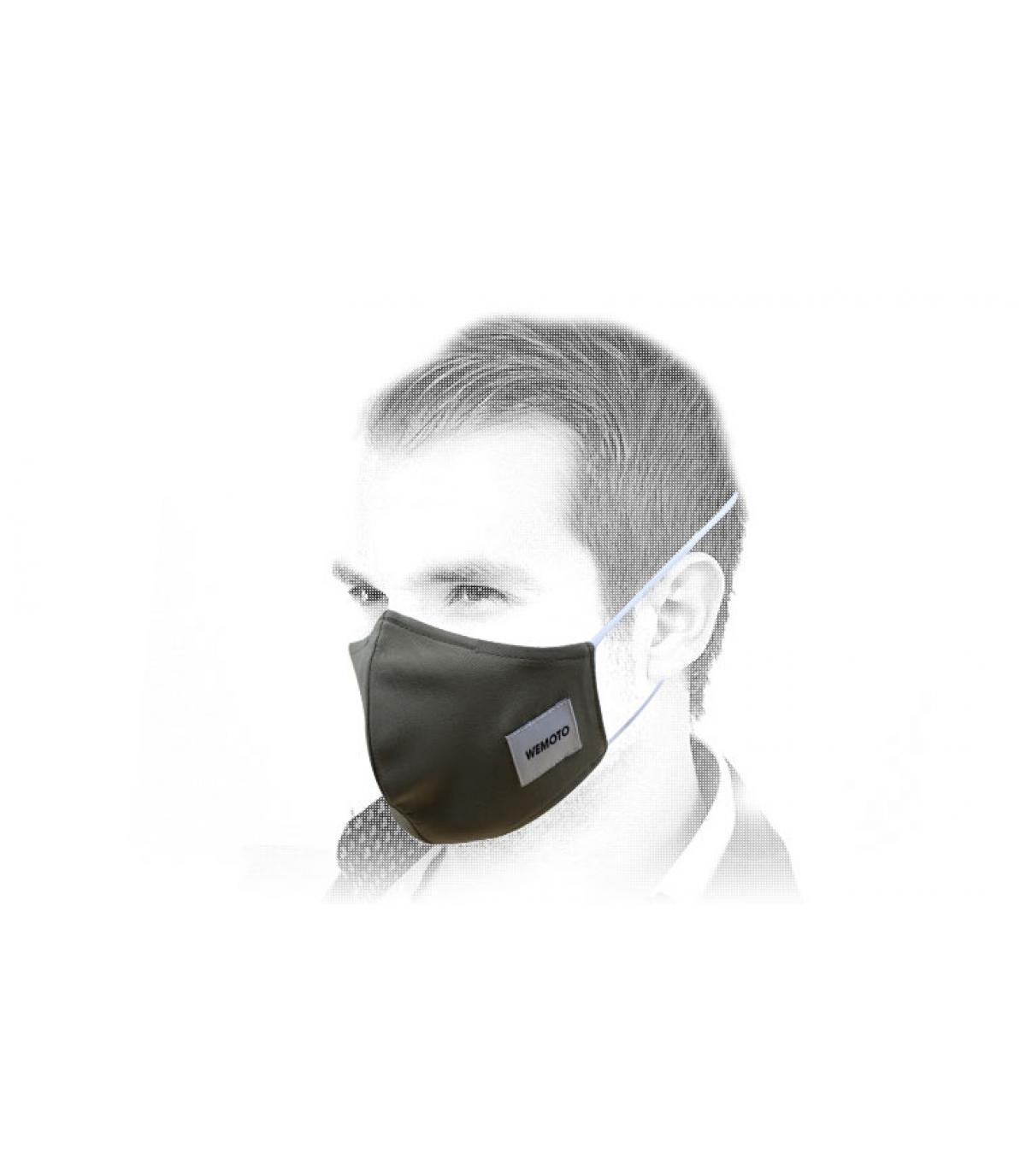 Maske vert Wemoto
