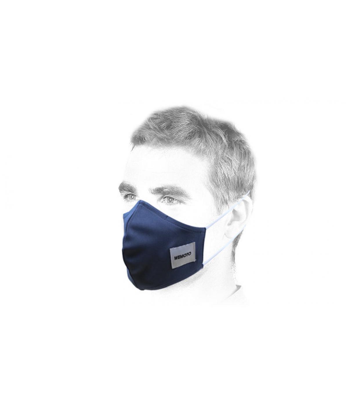 Maske blau Covid