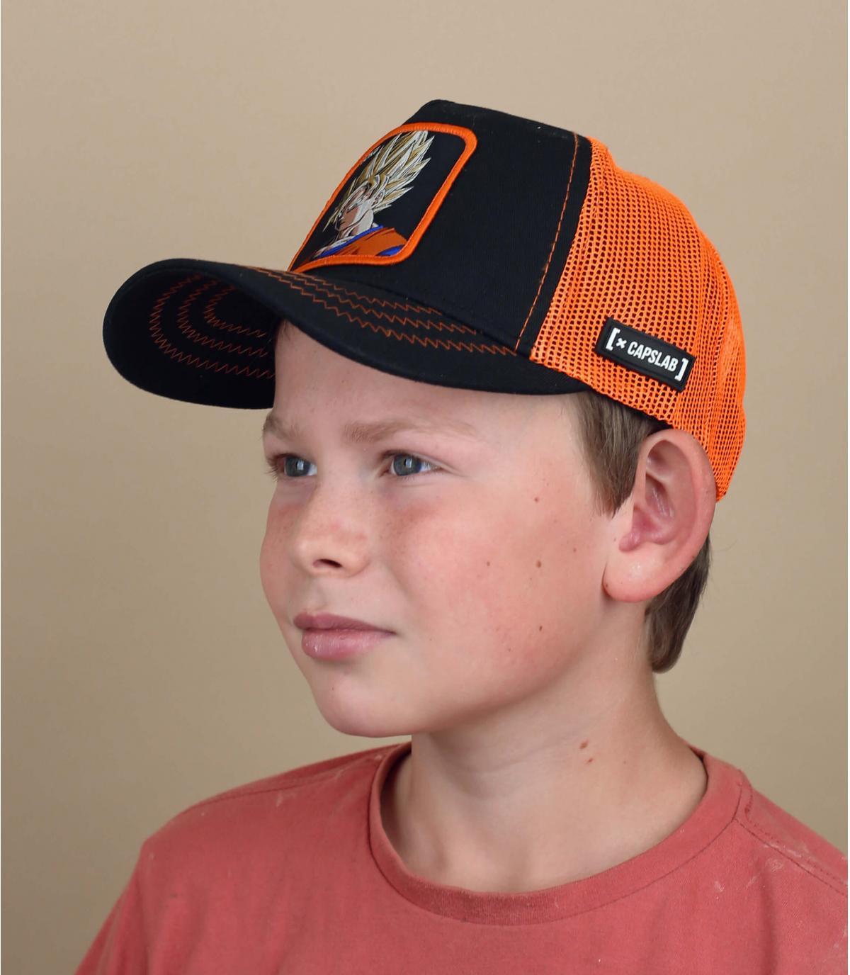 Kinder Trucker Cap Son Goku DBZ