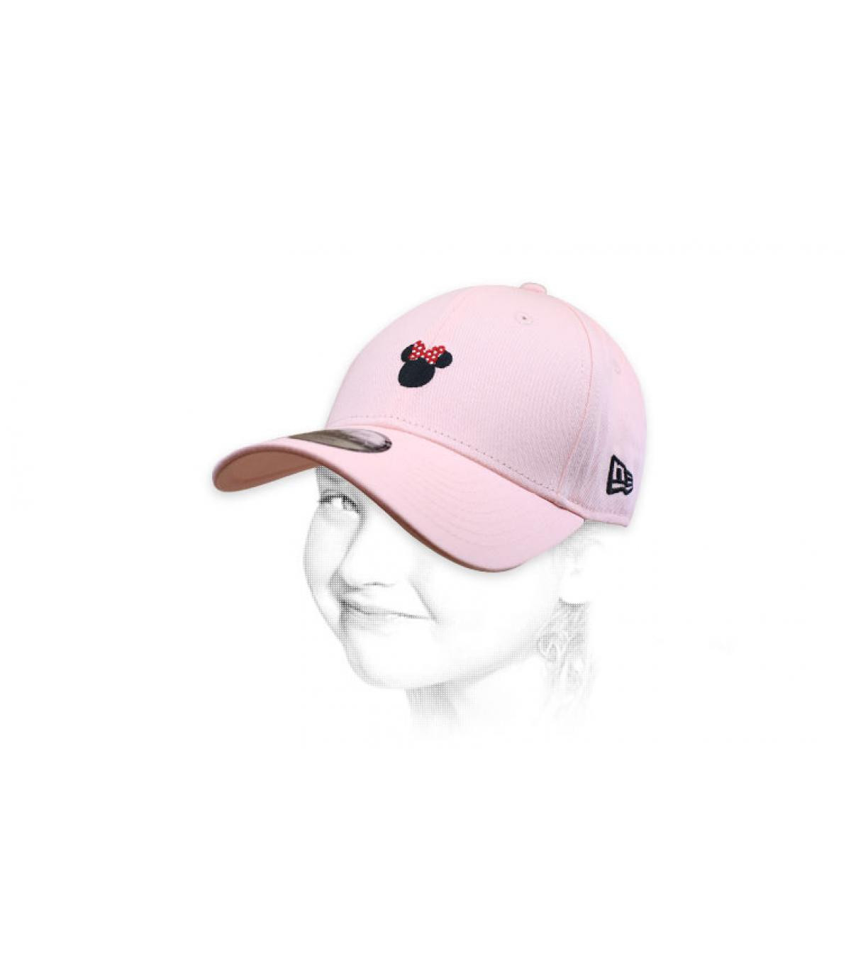 Cap Minnie rosa Mädchen