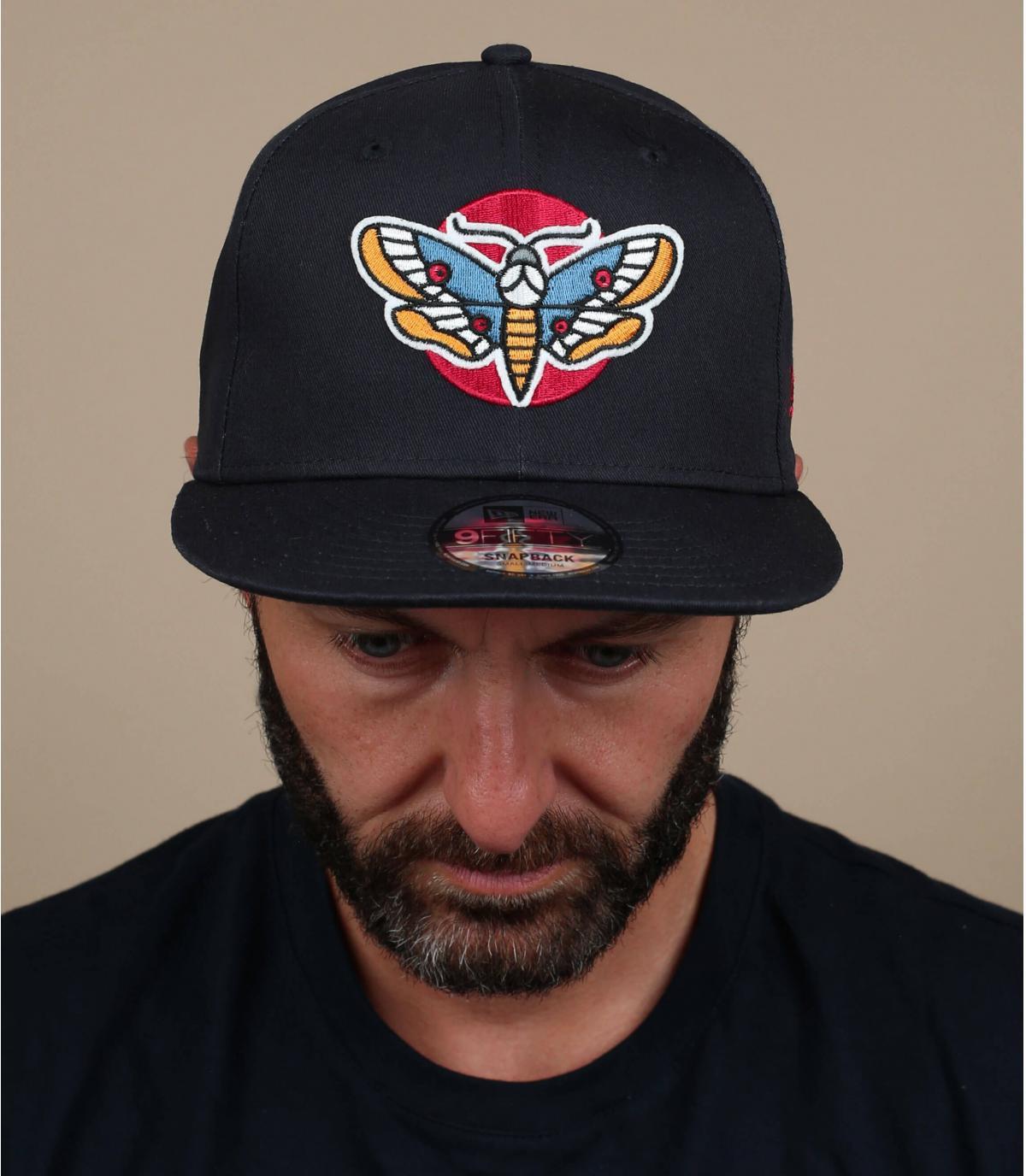 Schwarze Cap Schmetterling