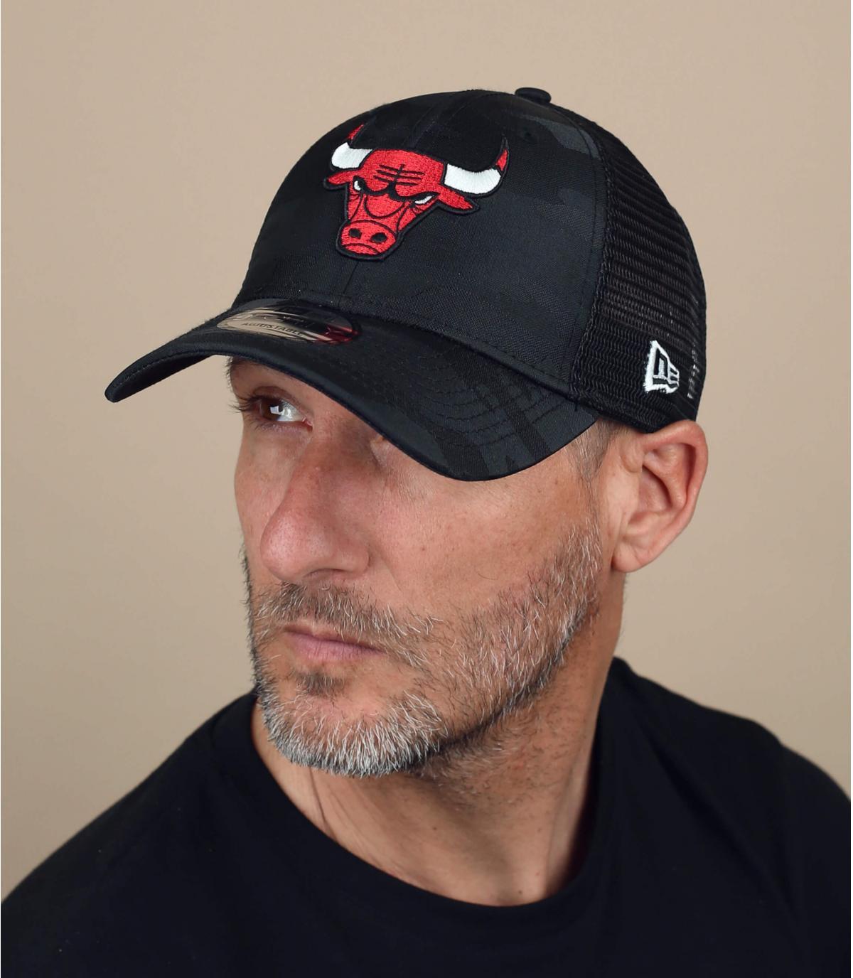trucker Bulls schwarz