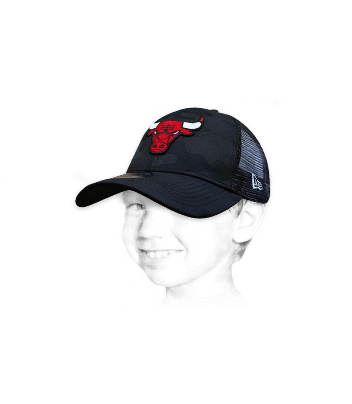 Kinder Trucker Cap Chicago Bulls