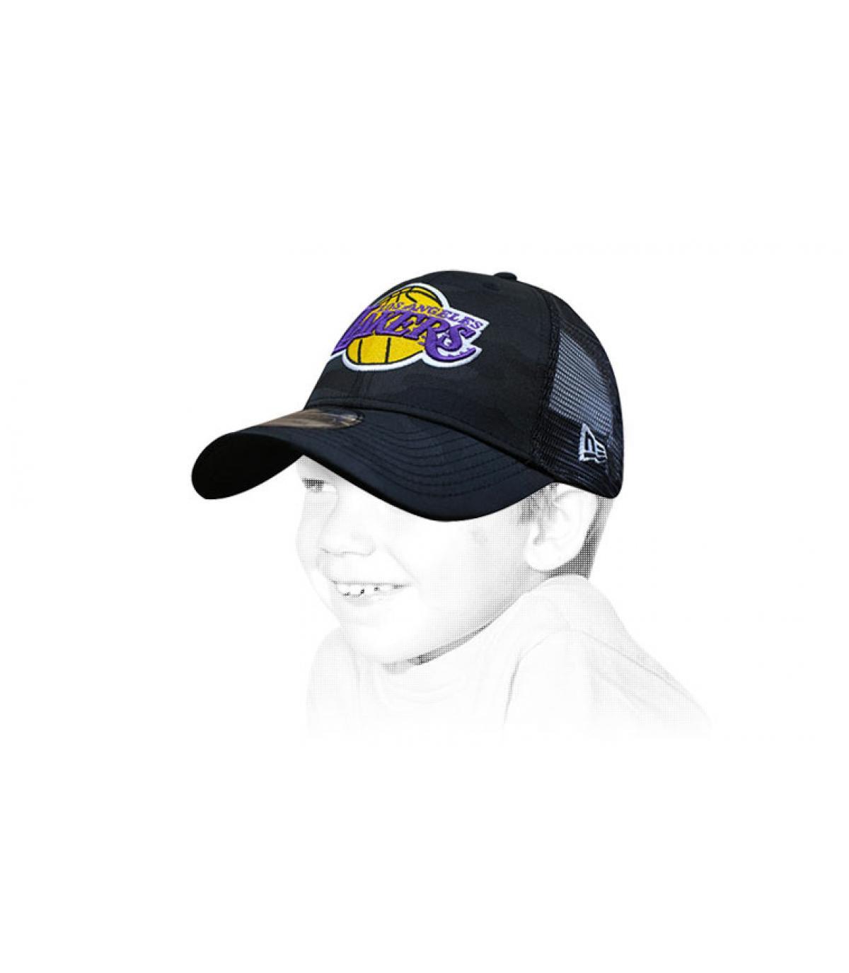 Kinder Trucker Cap Lakers