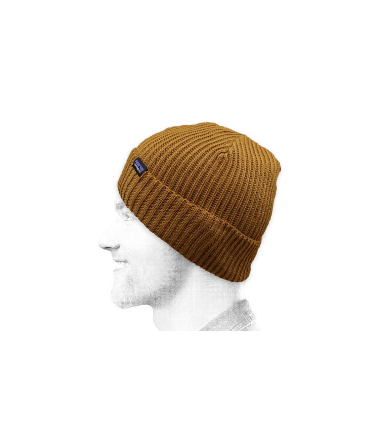 Cuff Mütze beige Patagonia