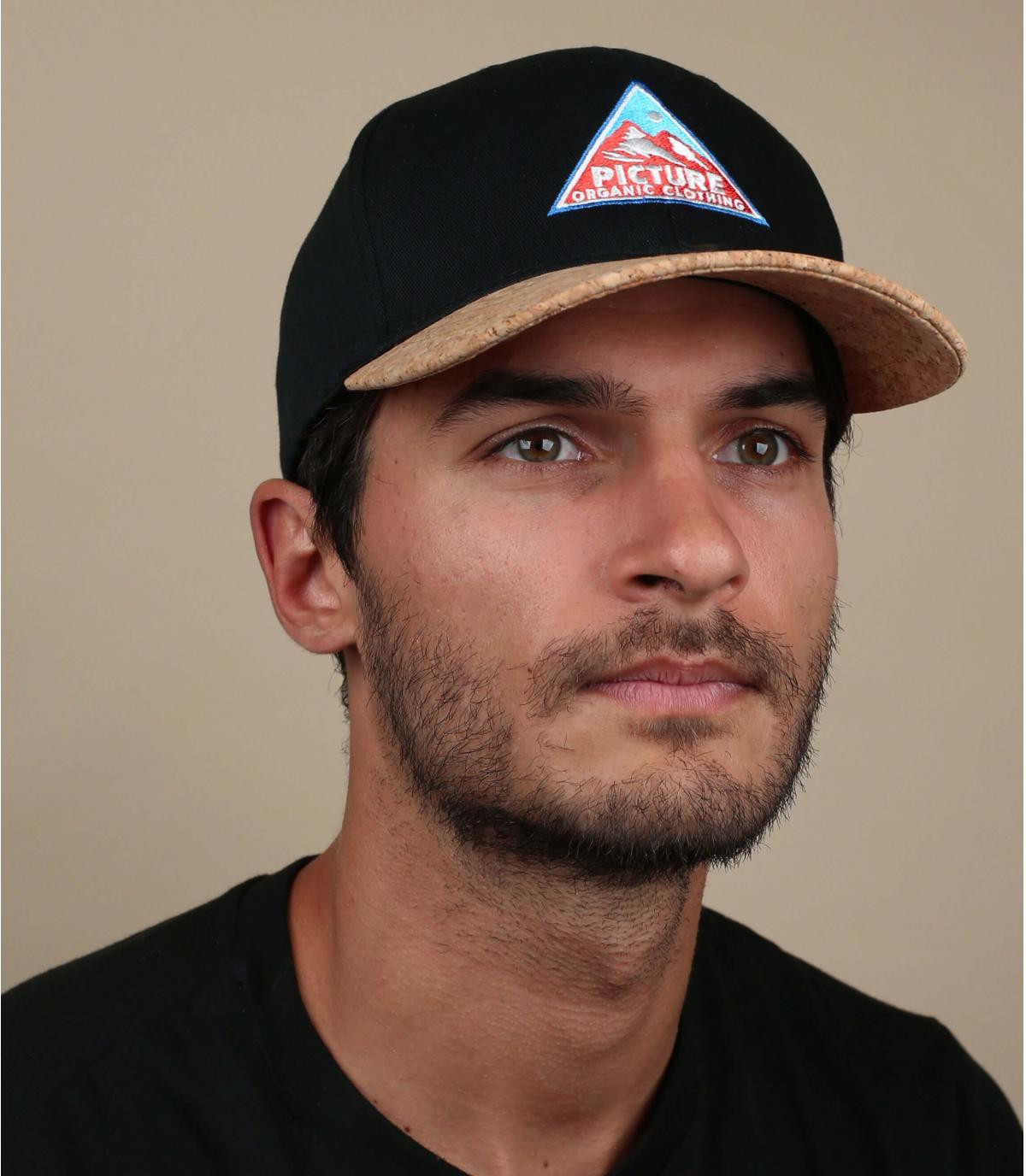 Baseball Cap Picture schwarz