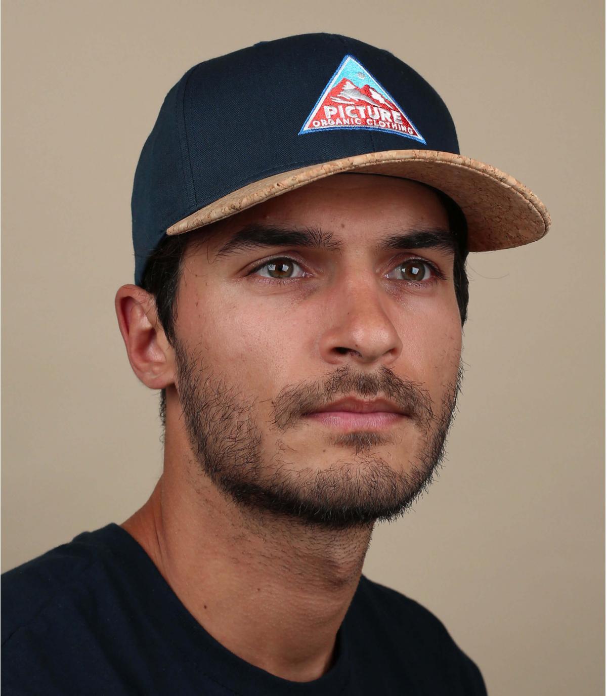 Baseball Cap Picture blau