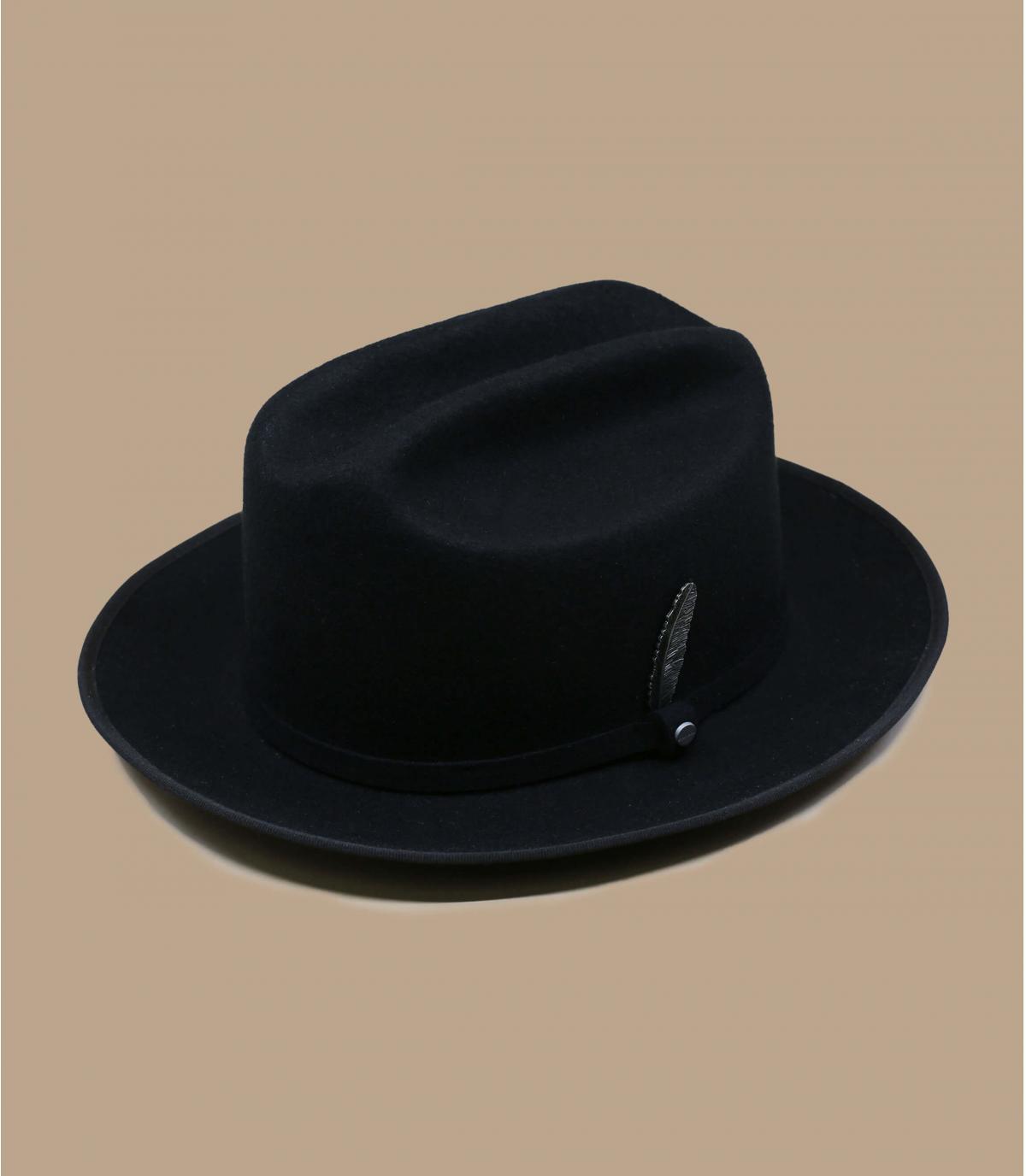 Cowboy Filzhut schwarz Stetson