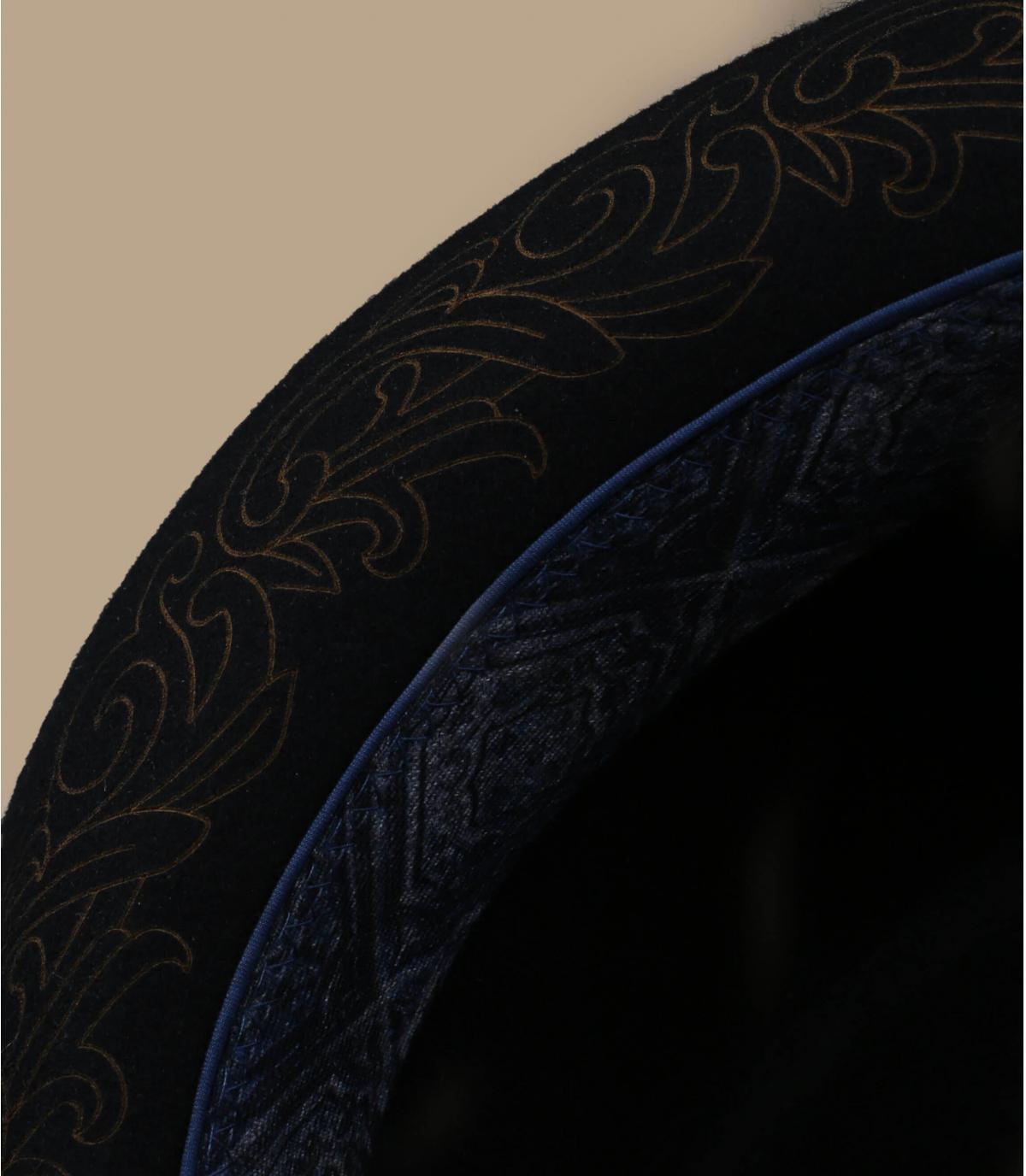 Details Diamond Woolfelt black - Abbildung 3