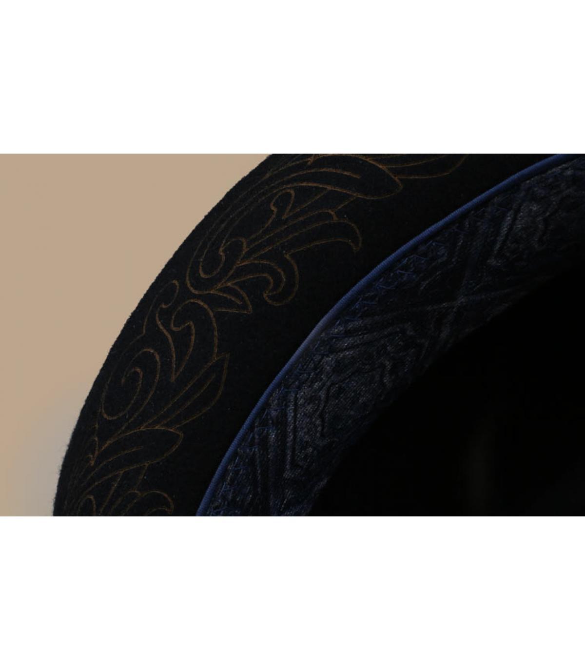 Details Diamond Woolfelt black - Abbildung 4