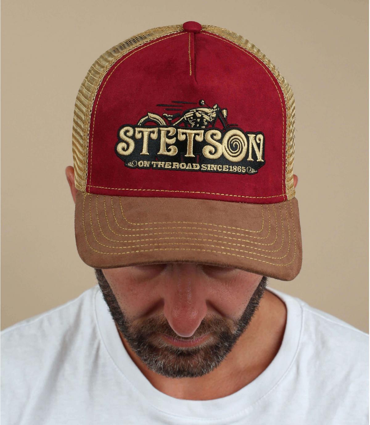 Trucker Cap  bordeaux Motorrad Stetson