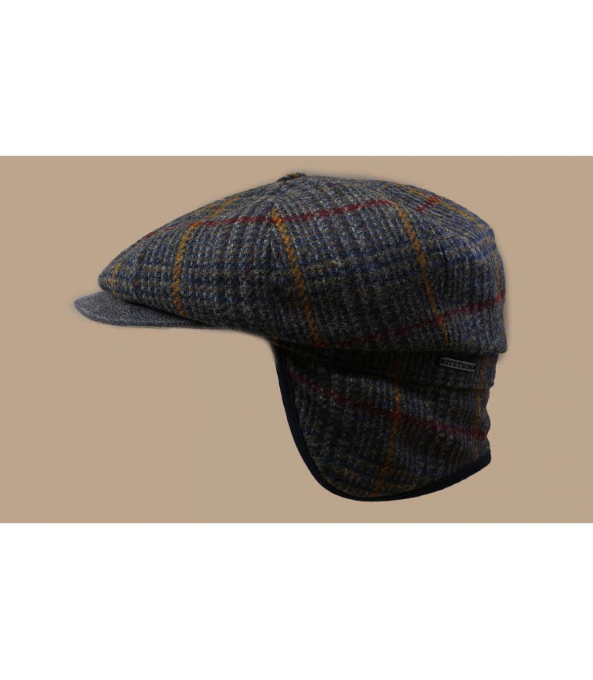 Details Hatteras EF Wool olive brown check - Abbildung 3