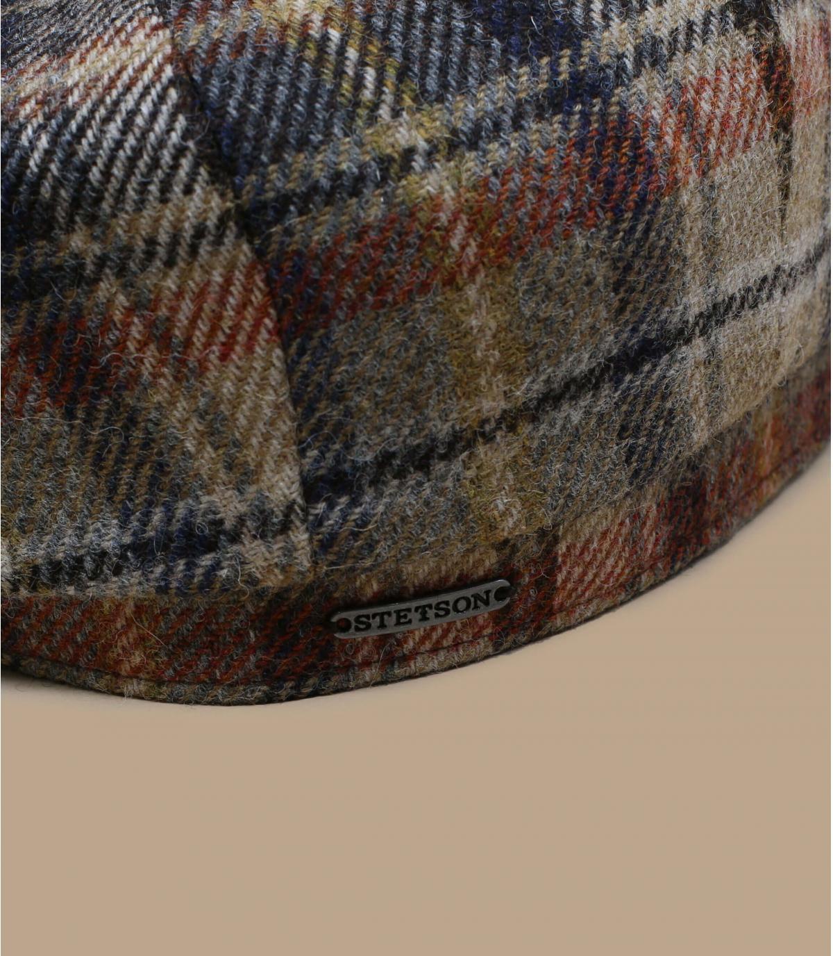 Details Hatteras Wool Check brown beige - Abbildung 2
