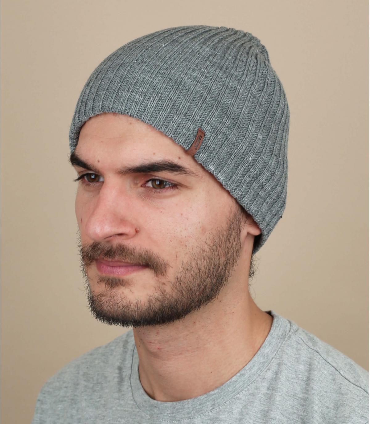 Barts graue Herrenmütze