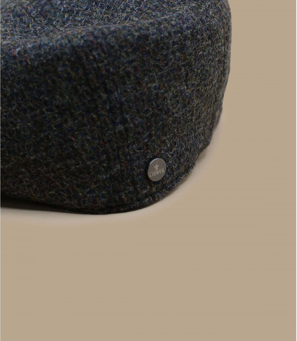 Ballonmütze grau Wolle