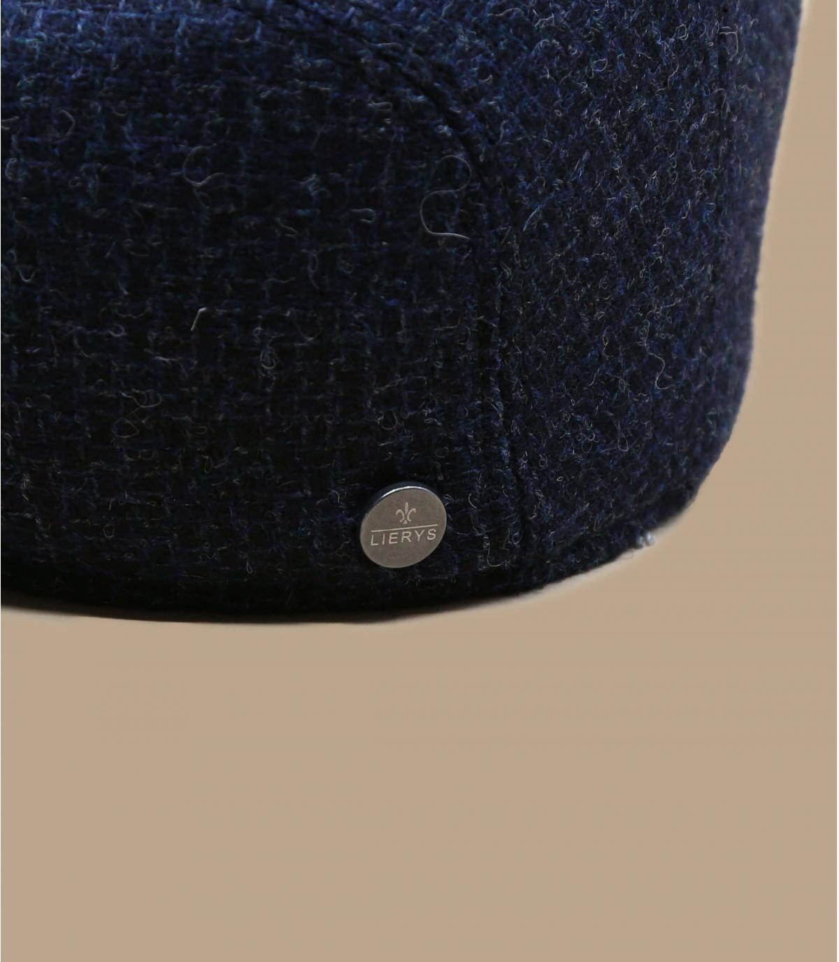 Schiebermütze Wolle blau