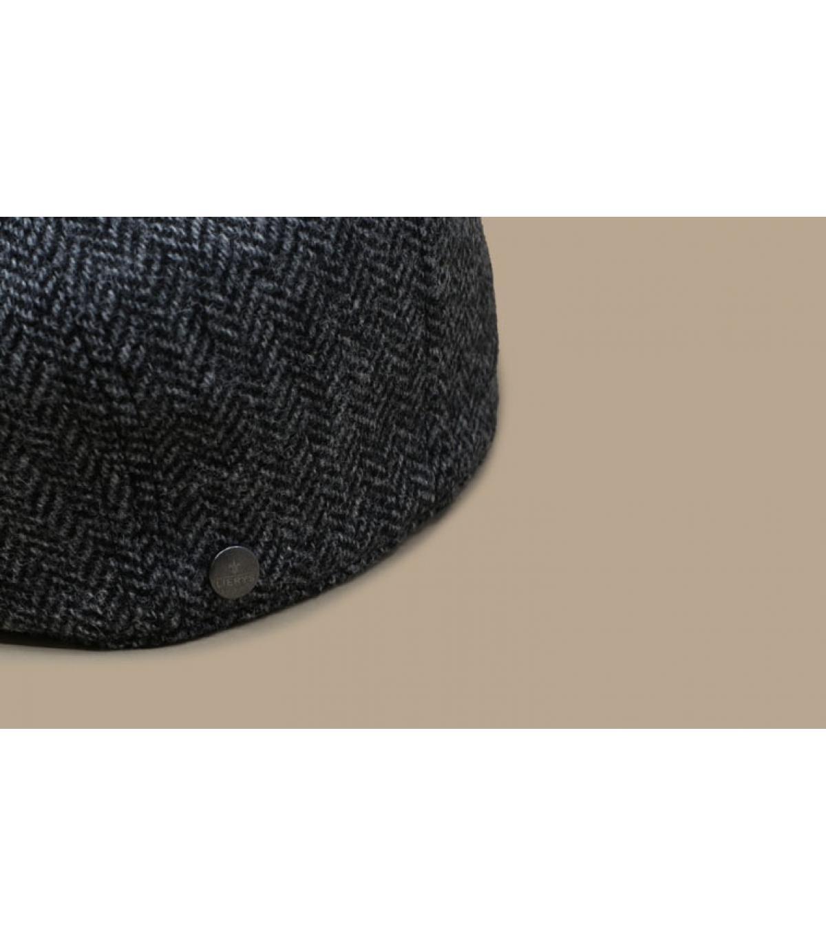 Details Britton Wool Herringbone grey - Abbildung 3