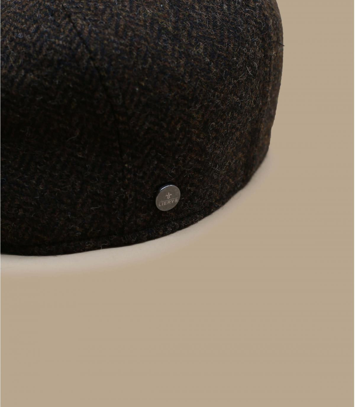 Details Britton Wool Herringbone brown - Abbildung 2