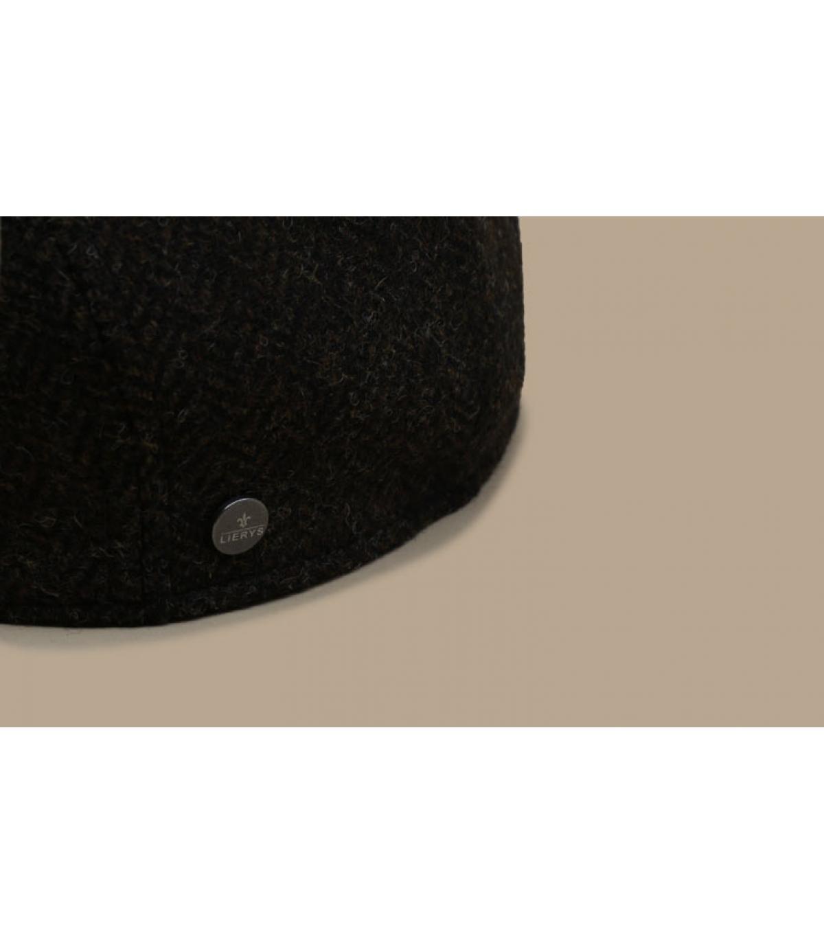 Details Britton Wool Herringbone brown - Abbildung 3