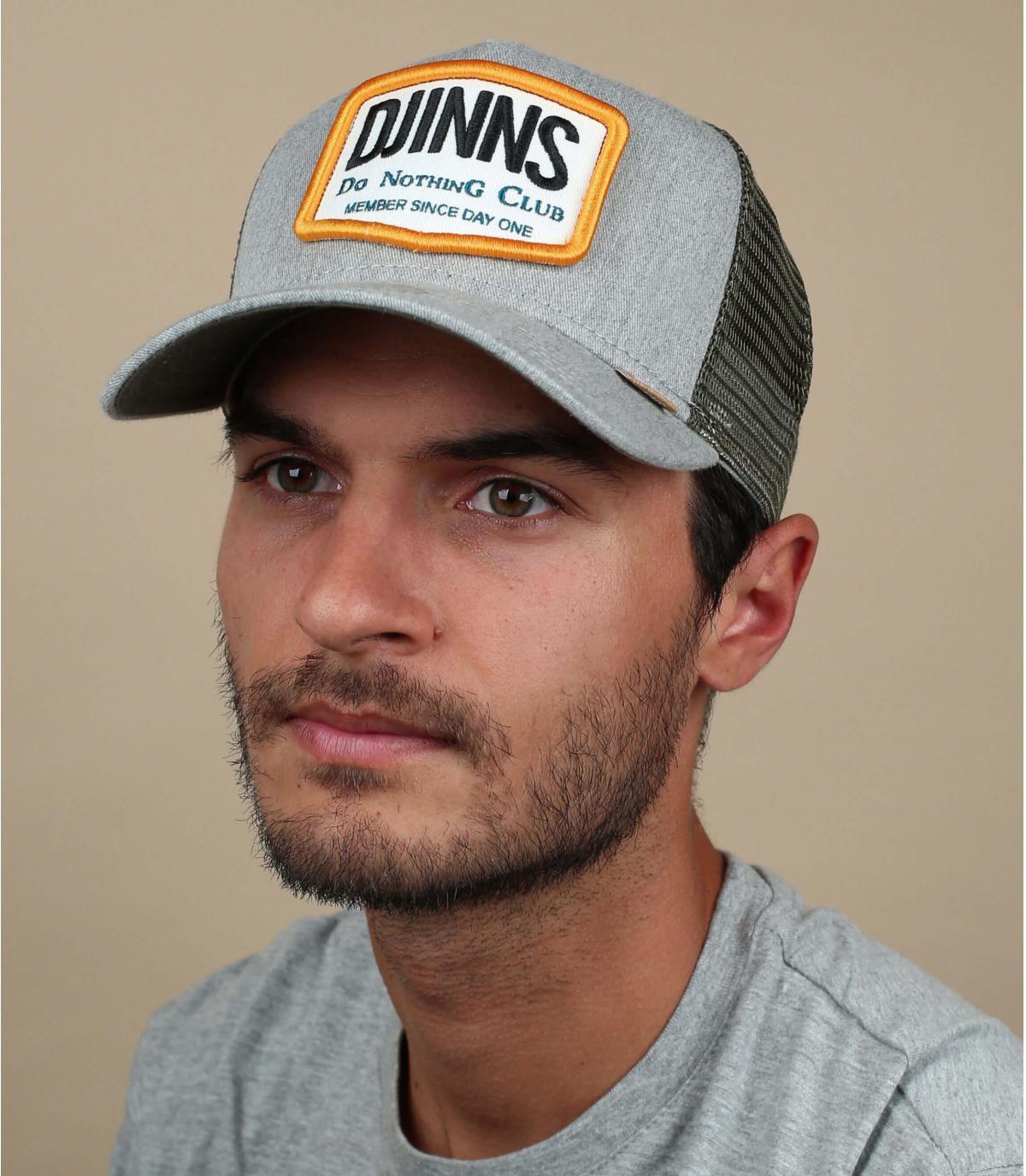 Trucker Cap Djinns grau