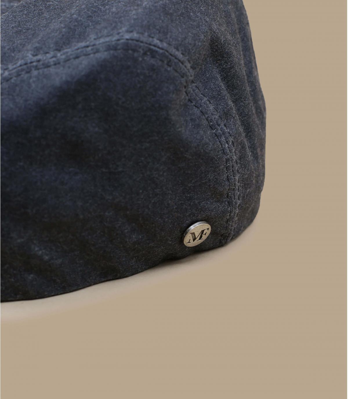 Flatcap grau wasserfest