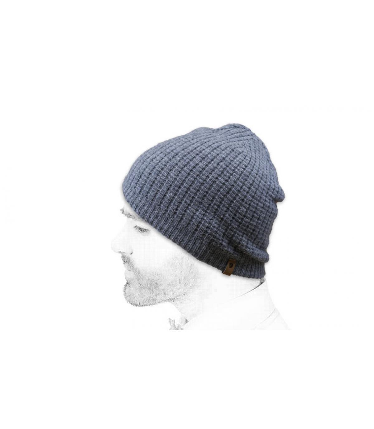 Mütze Fjällräven grau
