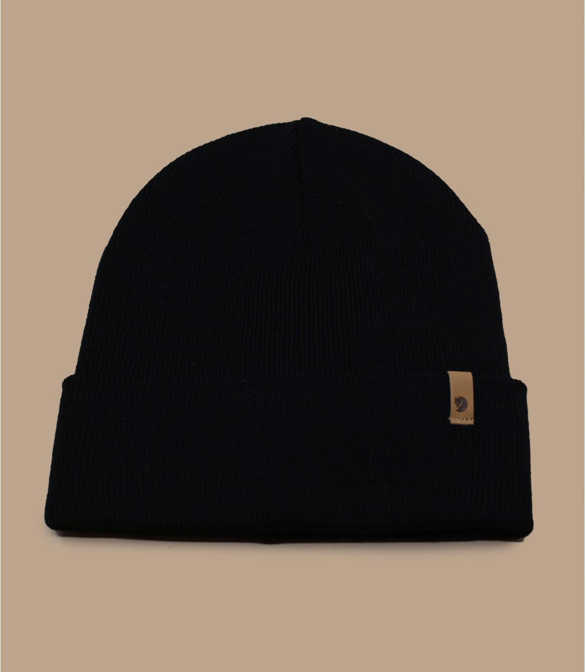Cuff Mütze Fjällräven schwarz