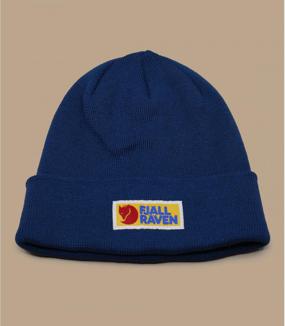 Mütze Fjällräven blau