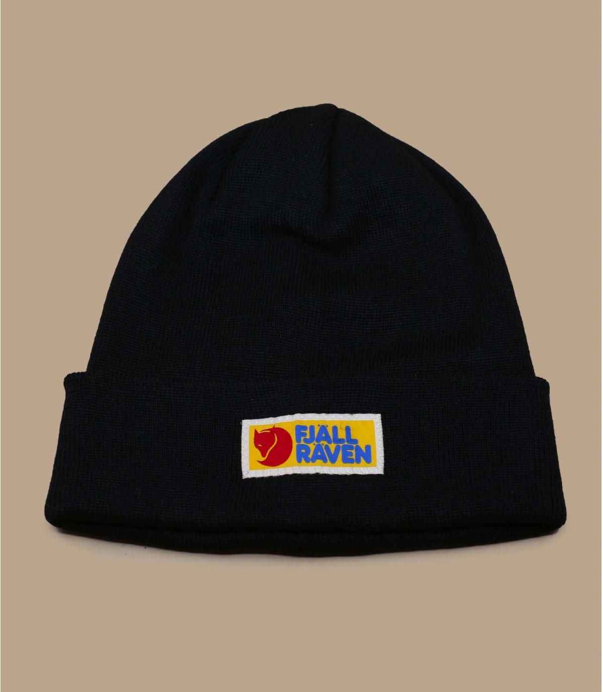 Mütze Fjällräven schwarz