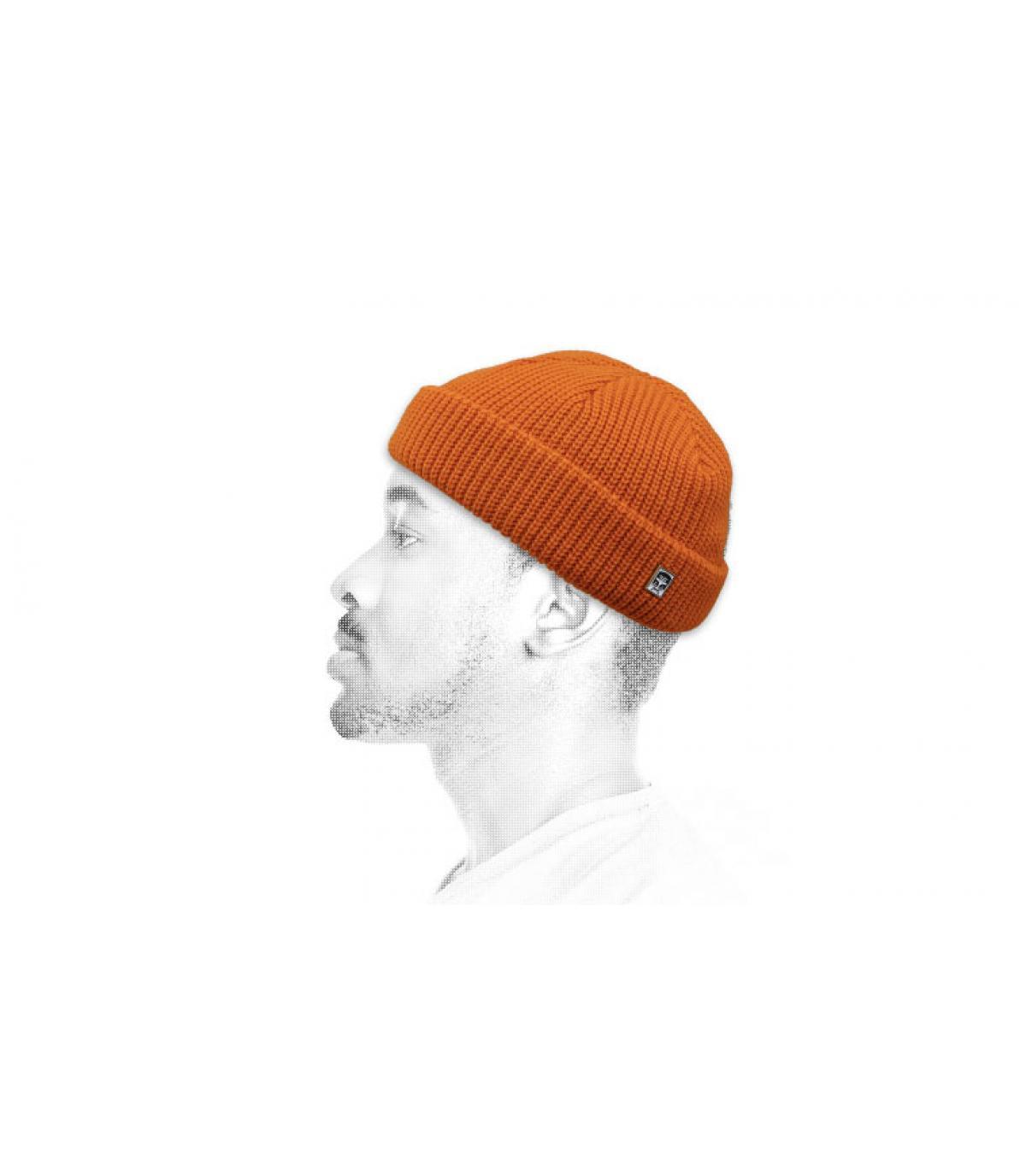 Dockermütze orange Obey