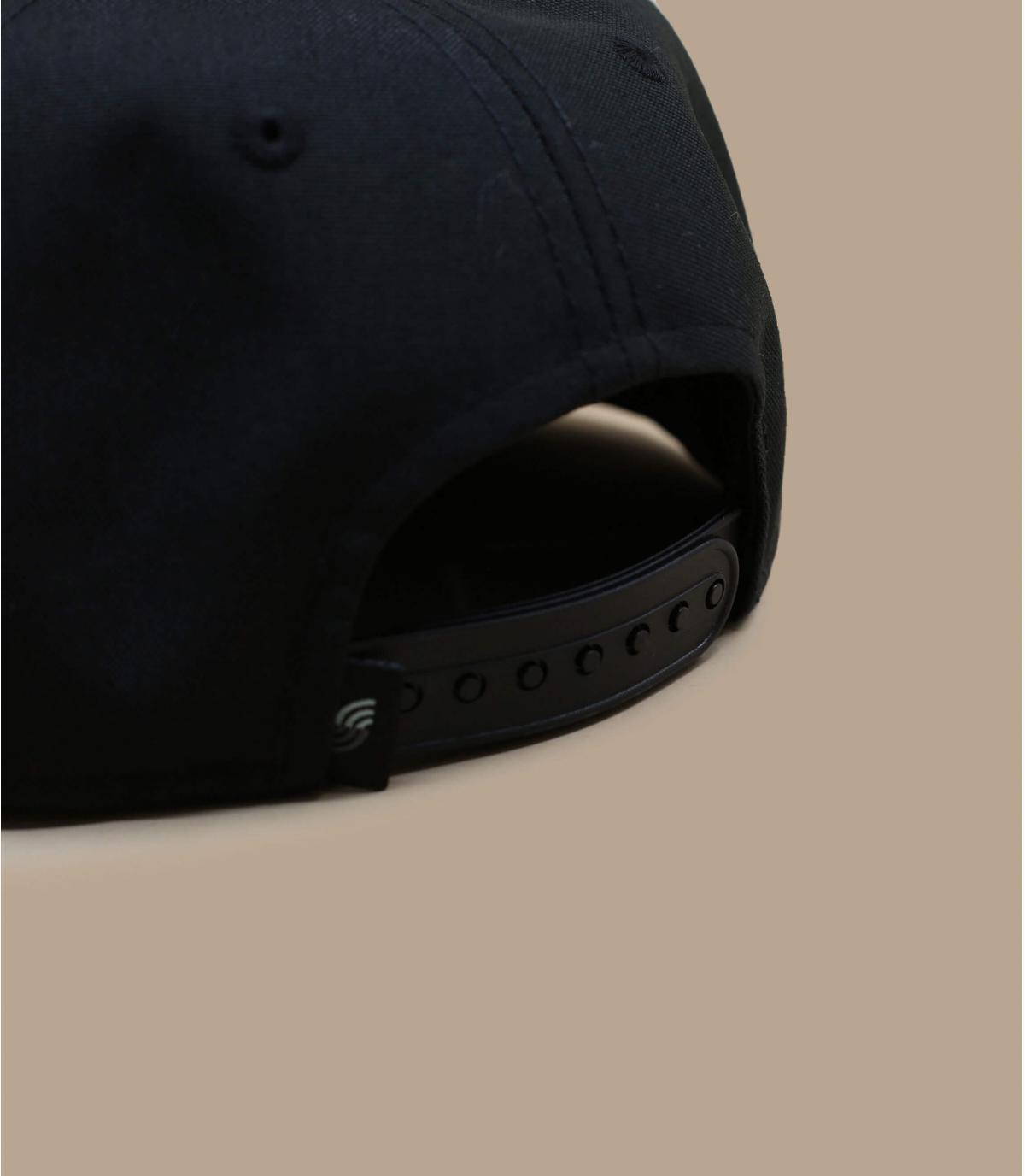 Details Snapback Recycled black - Abbildung 4