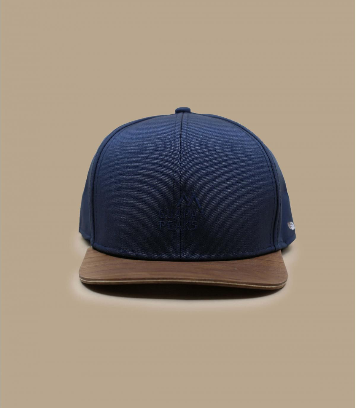 Details Snapback Recycled navy - Abbildung 1