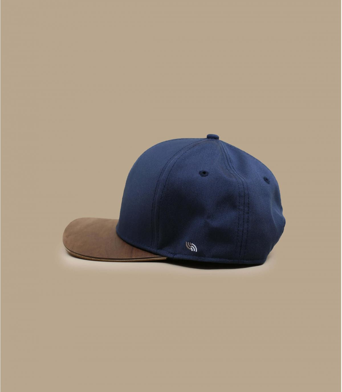 Details Snapback Recycled navy - Abbildung 3