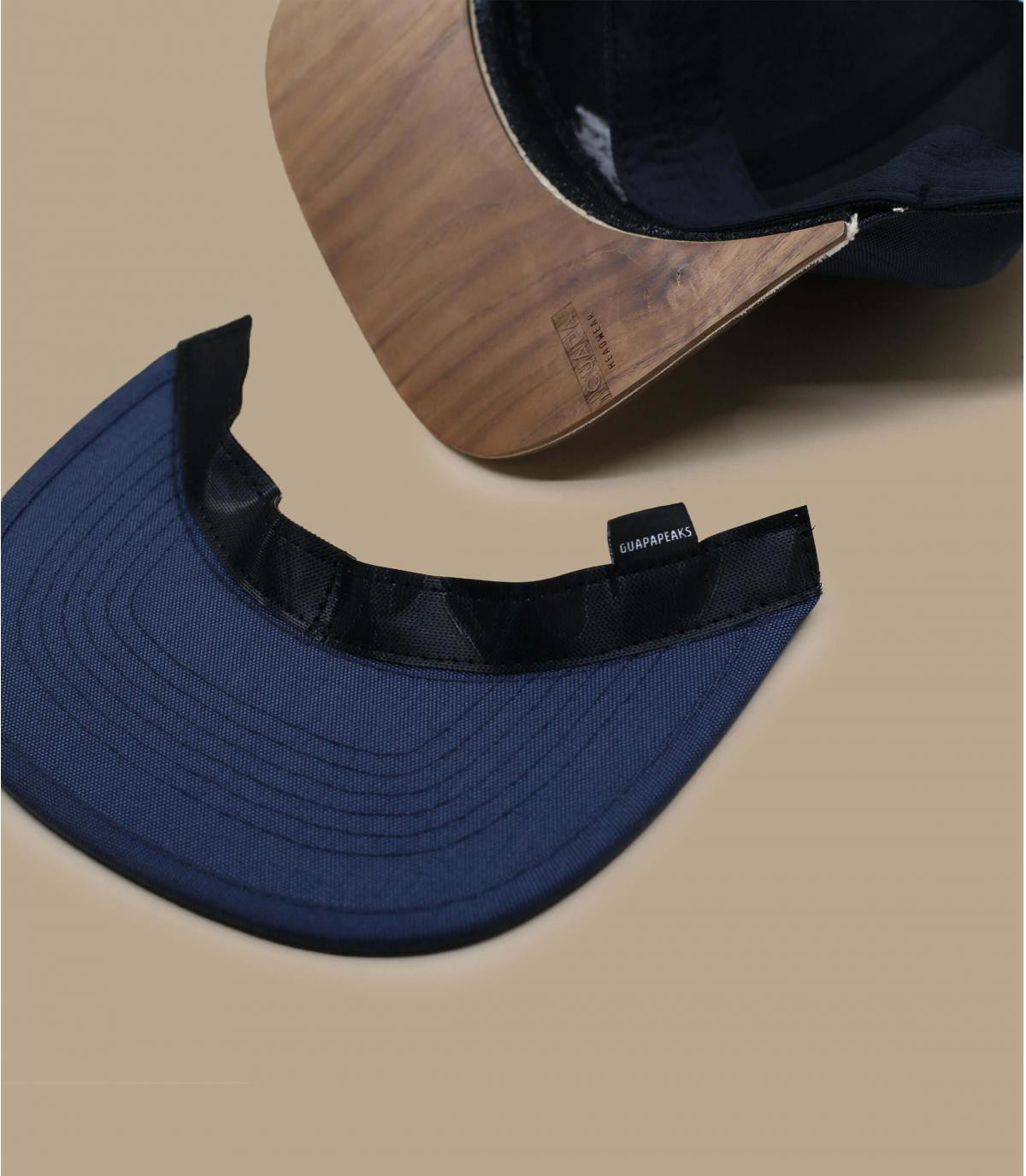 Details Snapback Recycled navy - Abbildung 5