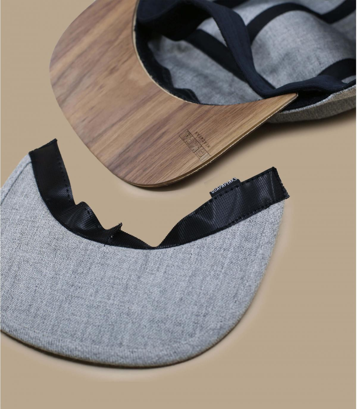 Details 5Panel Recycled heather grey - Abbildung 5
