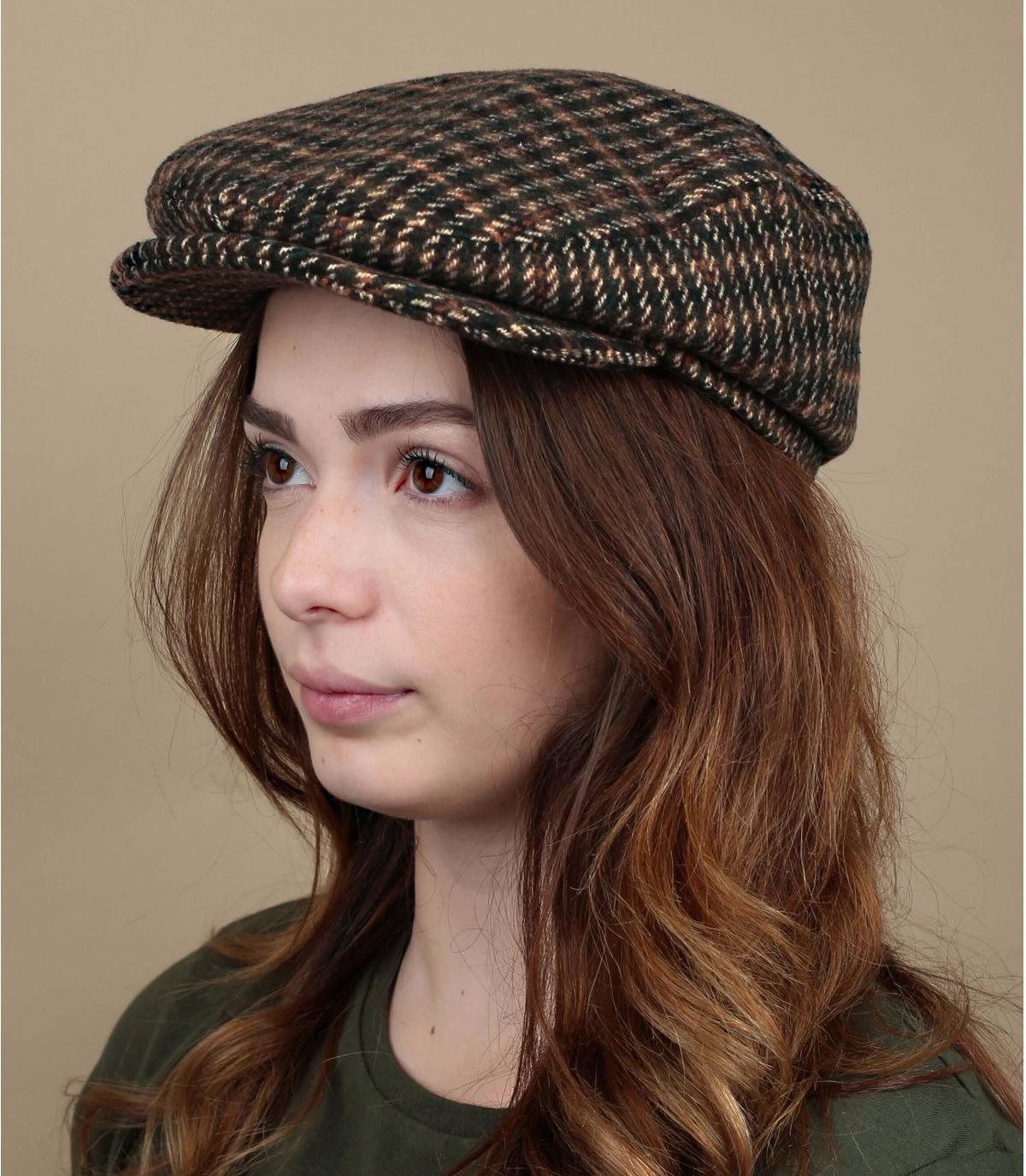 Damen Flatcap Wolle