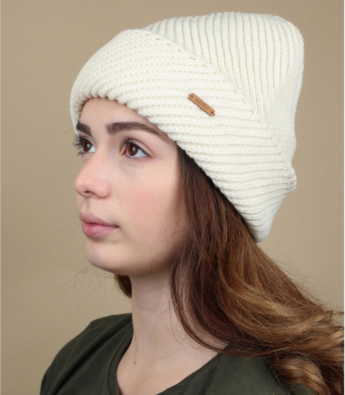 Cuff Mütze weiß