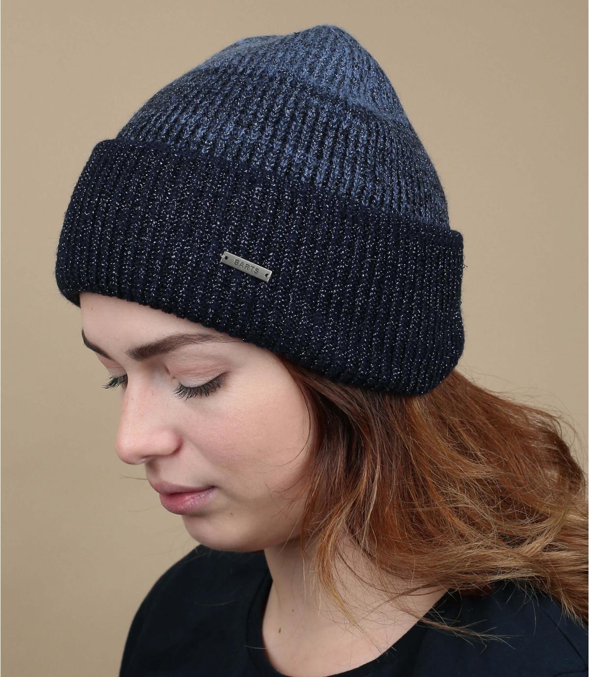 Cuff Mütze blau